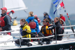 J/105 Young American team sailing AYC Spring series