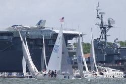 J/24s sailing off Charleston