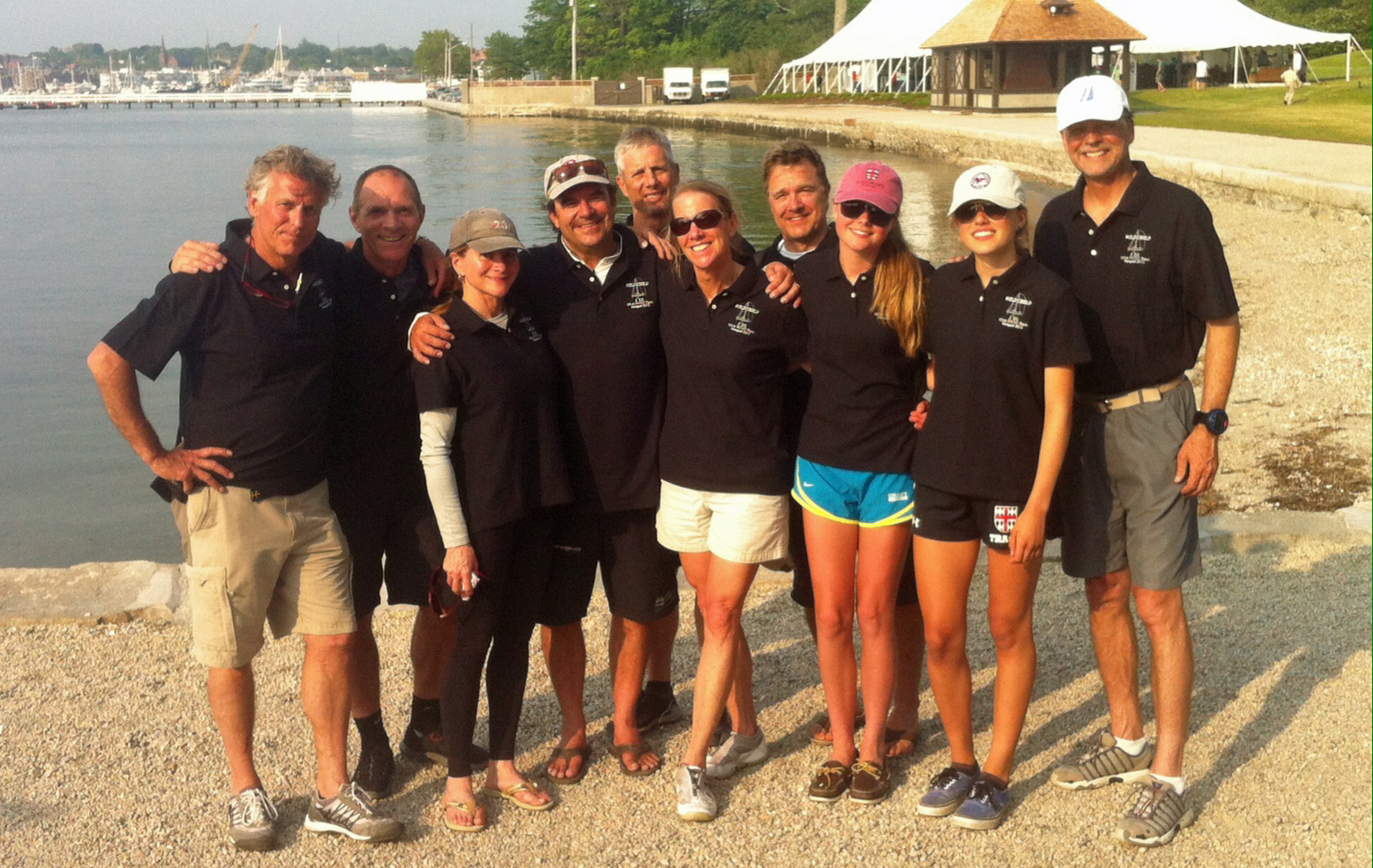 J/111 WILD CHILD crew at New York YC Annual Regatta