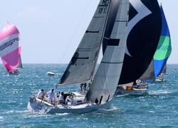 J/120 sailing Puerto Vallarta and Mexorc