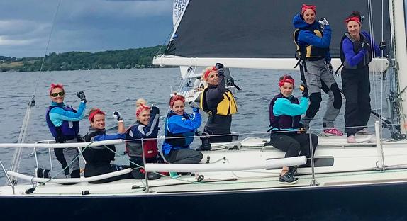 J/92 all women's crew