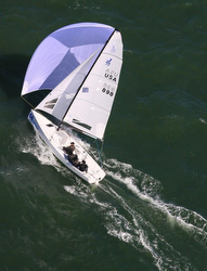 J/70 with Ushers sailing