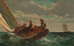 Winslow Homer's Breezing Up- named J/46 too!