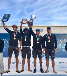 Italian J/70 sailing league- winners