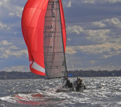 J/88 sailing Manhasset Fall series