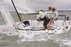 J/70 Jugador- youth team at Cowes Race Week