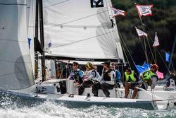 J/70s sailing Royal Yacht Squadron Bicentenary team race