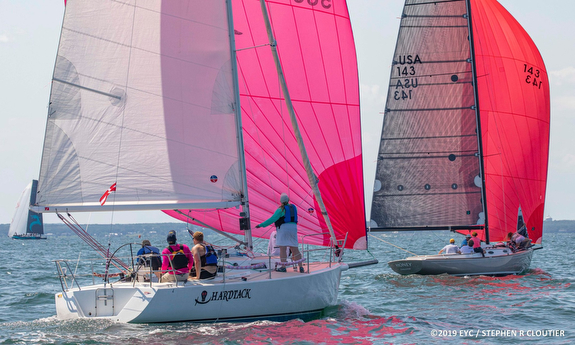 J/105 sailing Edgartown Race Week