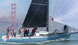J/125 Hamachi sailing San Francisco