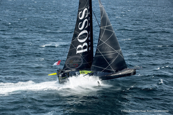 Thomson's Hugo Boss IMOCA 60 sailboat