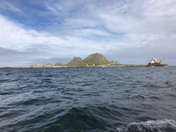 Farallones Islands- rock!