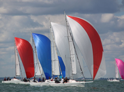 J/80 UK Nationals sailing