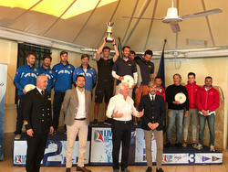 Italian J/70 Sailing League- Malcesine, Italy winners podium