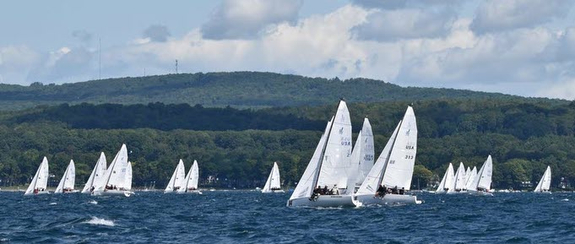 J/70 Corinthians sailing Harbor Springs