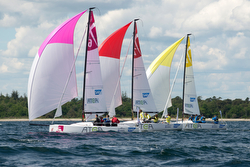 J/70s sailing league in Europe