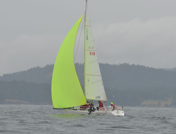 J/105s sailing Swiftsure Race
