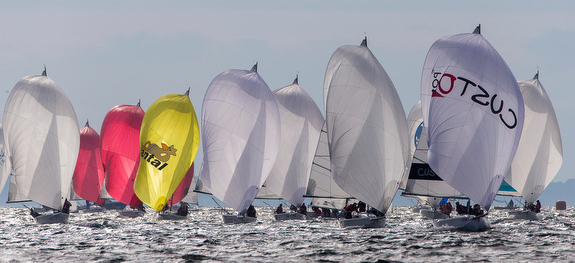 J/80 sailing World Championship