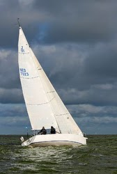 J/105 sailing RORC North Sea Race
