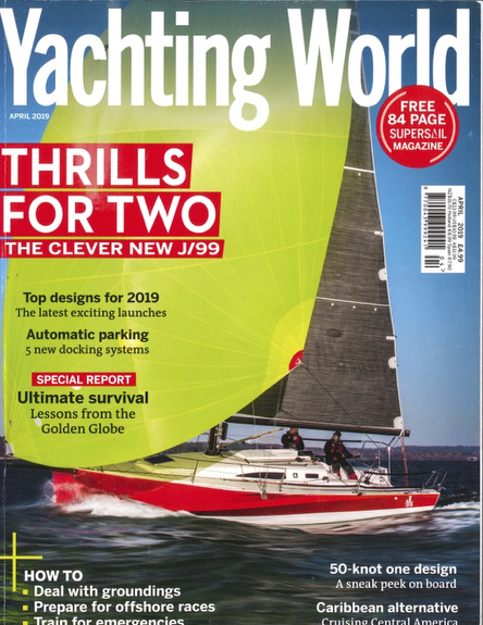 J//99 Yachting World boat test review