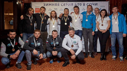 Russian J/70 Sailing League winners at Sochi
