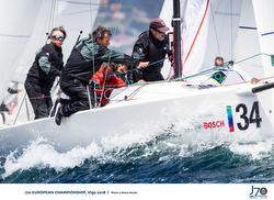 J/70 sailing Europeans- Vigo, Spain