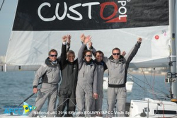 J/80 Courrier Junior wins French Nationals