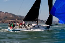 J/125 Hamachi sailing San Francisco Big Boat Series