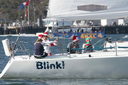 J/105 Blink sailing Hot Rum Series