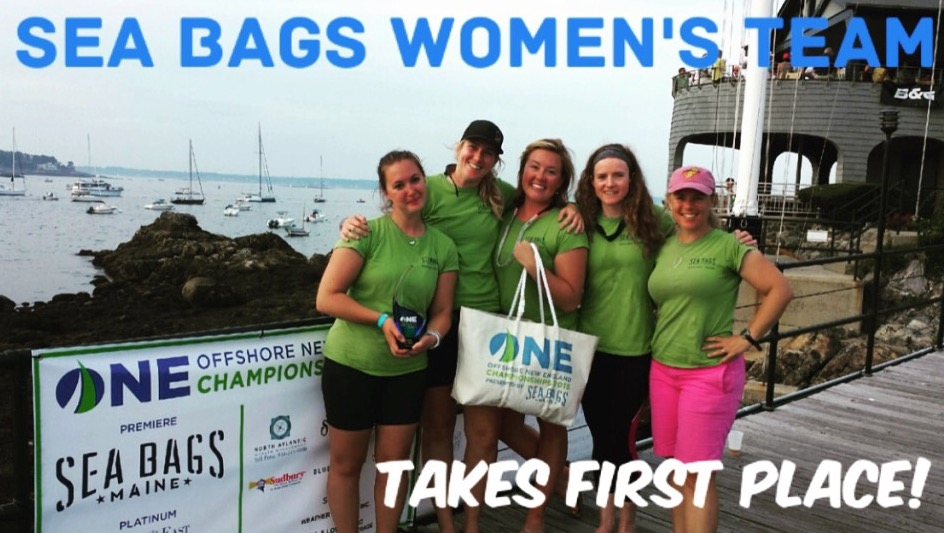 J/24 women's Sailbags team