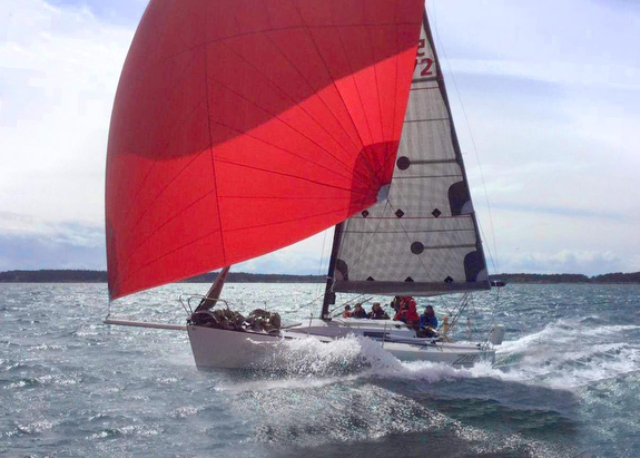 J/92S ZAFF sailing Oregon Offshore race