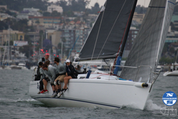 J/125 Resolute sailing Yachting Cup San Diego