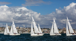 J/105s sailing Lipton Cup San Diego