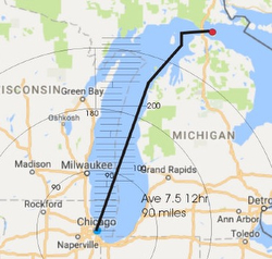J/88 Chicago-Mackinac Singlehanded Race