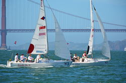 J/22 sailboats- San Francisco Cup