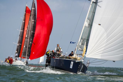 J/122 RELENTLESS ON JELLYFISH sailing RORC Round Britain & Ireland Race