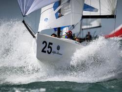 J/70 sailing in Europe