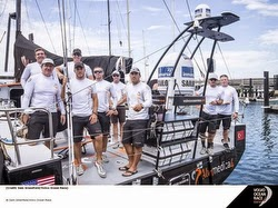 Charlie Enright and Team Alvemedica- sailing Volvo Race
