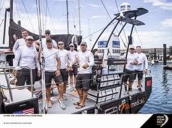 Charlie Enright and Team Alvemedica- sailing Volvo Race