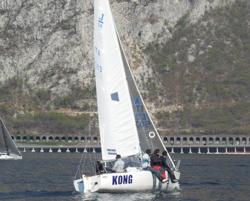 J/24 Griffon sailing Italy