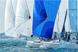 J/105s sailing Helly Hansen NOOD Regatta