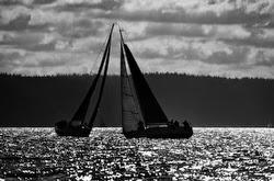 Sailing on Puget Sound