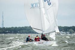 J/24 sailing Annapolis NOOD
