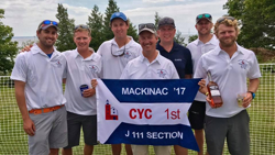 J/111 Mac winners- Marty Roesch & Velocity crew
