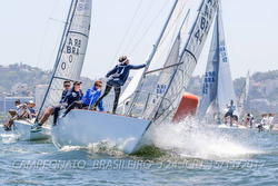 J/24 sailing one-design racing