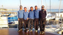 Italian J/24 sailors
