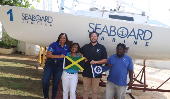 Seaboard Marine - sponsor of J/22 Jammin Jamaica Regatta