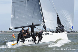 J/111 Black Dog winning RORC Vice Admirals Cup