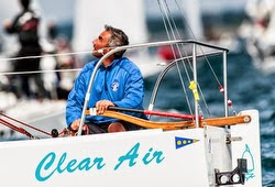 Canadian J/24 sailor Rossi Milev at J/24 Worlds Newport