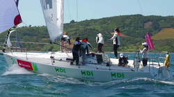 J/105 HDI Seguros women's sailing team