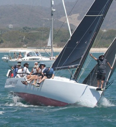 J/125 sailing Puerto Vallarta and Mexorc